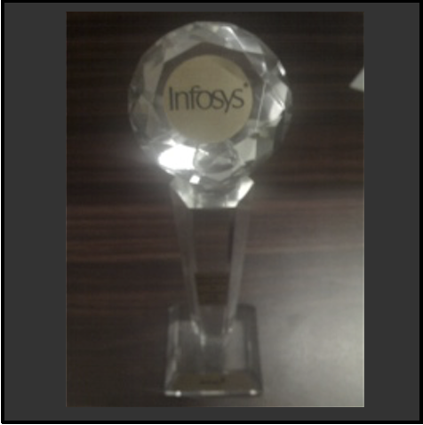 Infosys recognition for OnTrac